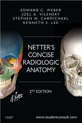 Book cover Netter's Concise Radiologic Anatomy