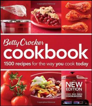 Book cover Betty Crocker Cookbook: 1500 Recipes for the Way You Cook Today