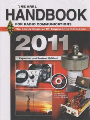 Book cover The ARRL Handbook for Radio Communications: The Comprehensive RF Engineering Reference [With CDROM]