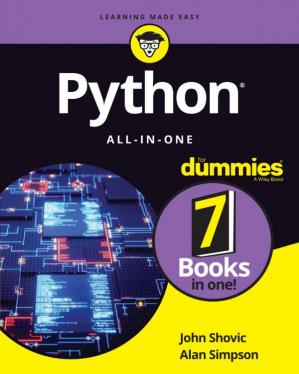 غلاف الكتاب Python All-In-One for Dummies