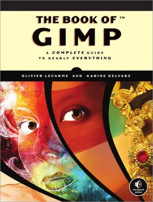 د کتاب پوښ The book of GIMP: A complete guide to nearly everything