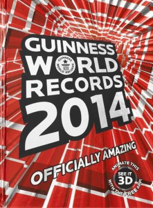 Book cover Guinness World Records 2014