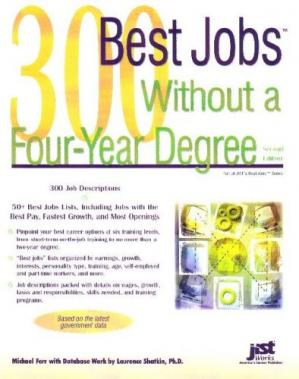 పుస్తక అట్ట 300 Best Jobs Without a Four-Year Degree