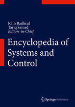 Book cover Encyclopedia of Systems and Control
