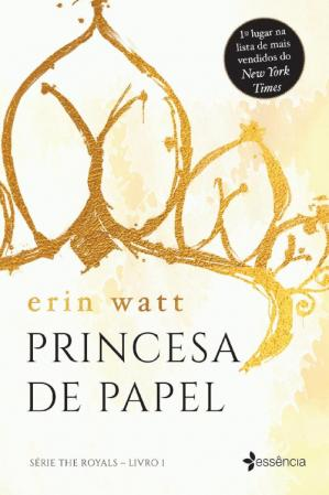 Book cover Princesa de Papel (The Royals Livro 1)
