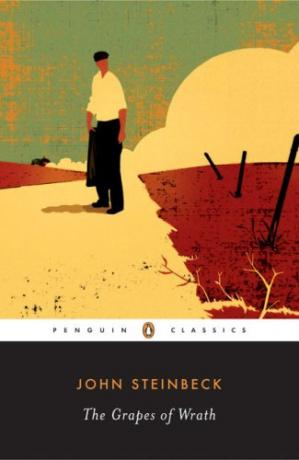 Book cover The Grapes of Wrath