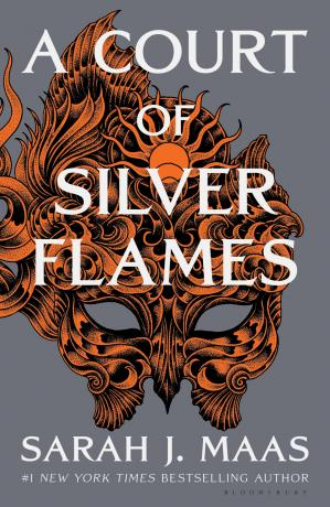 Book cover A Court of Silver Flames