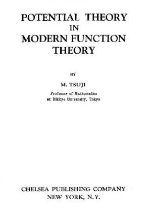 Book cover Potential Theory in Modern Function Theory