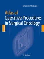 表紙 Atlas of Operative Procedures in Surgical Oncology