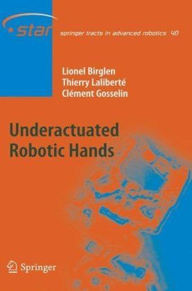 书籍封面 Underactuated Robotic Hands
