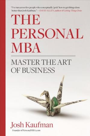 کتاب کی کور جلد The Personal MBA: Master the Art of Business