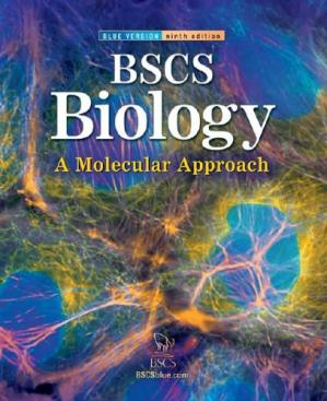 Book cover BSCS Biology: A Molecular Approach, Student Edition