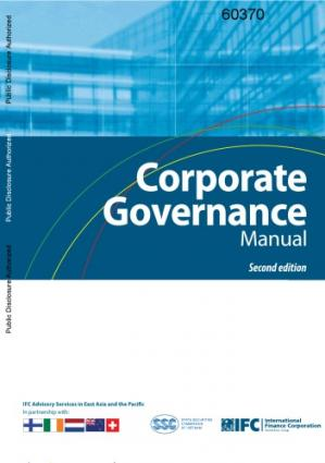 A capa do livro Corporate Governance Manual, Second Edition