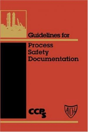 पुस्तक कवर Guidelines for Process Safety Documentation