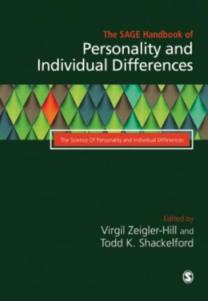 Book cover The SAGE Handbook of Personality and Individual Differences. Volume I: The Science of Personality and Individual Differences