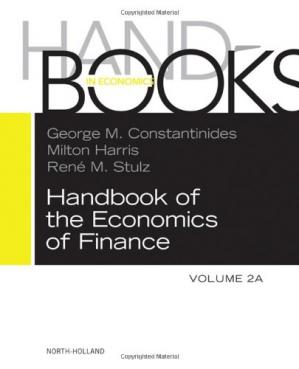 Couverture du livre Handbook of the Economics of Finance SET:Volumes 2A & 2B, Corporate Finance and Asset Pricing