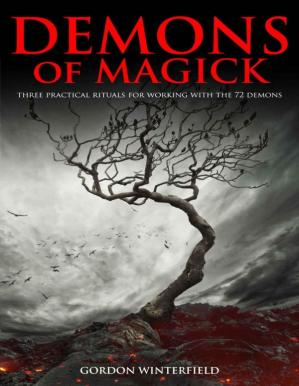 Book cover Demons of Magick : Three Practical Rituals For Working With The 72 Demons