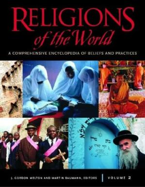 Book cover Religions of the world: A comprehensive encyclopedia of beliefs and practices