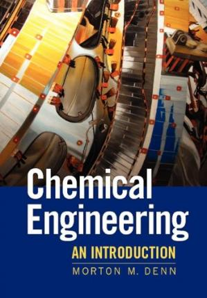 La couverture du livre Chemical Engineering: An Introduction (Cambridge Series in Chemical Engineering)