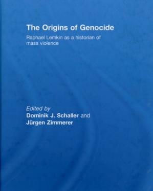 Գրքի կազմ The Origins of Genocide: Raphael Lemkin as a historian of mass violence