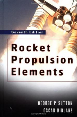 La couverture du livre Rocket Propulsion Elements