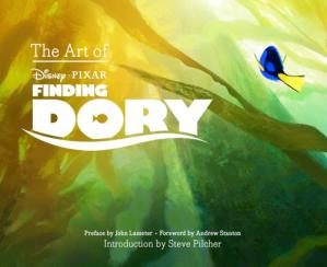 Book cover The Art of Finding Dory