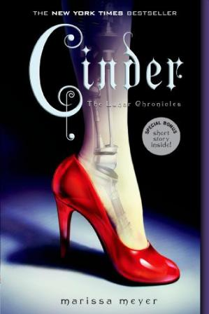 Book cover Cinder