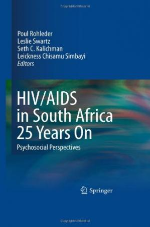 Обкладинка книги HIV/AIDS in South Africa 25 Years On: Psychosocial Perspectives