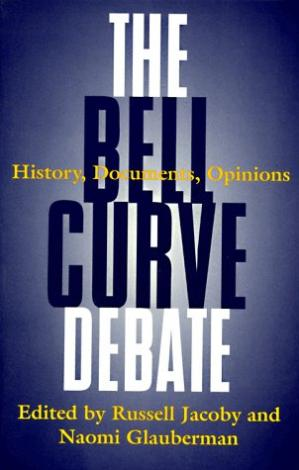 Εξώφυλλο βιβλίου The Bell Curve Debate: History, Documents, Opinions