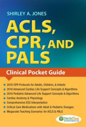 Portada del libro ACLS, CPR, and PALS. Clinical Pocket Guide