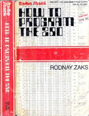Book cover Programming the Z80