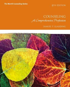 Book cover Counseling A Comprehensive Profession, Eighth Edition