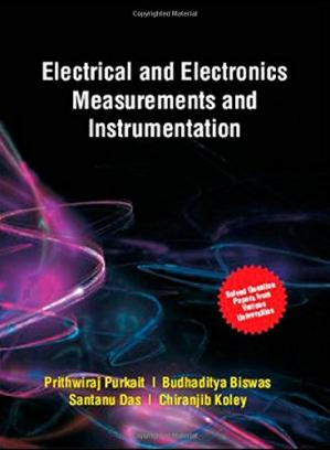 Book cover Electrical and Electronics Measurements and Instrumentation