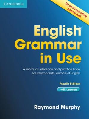 Book cover English Grammar in Use with Answers: A Self-Study Reference and Practice Book for Intermediate Students of English