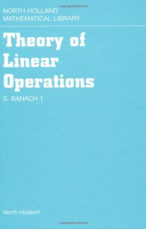 Okładka książki Theory of Linear Operations