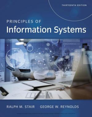 La couverture du livre Principles of information systems