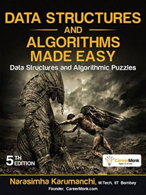 Copertina Data Structures and Algorithms Made Easy: Data Structures and Algorithmic Puzzles