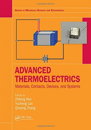 Okładka książki Advanced Thermoelectrics: Materials, Contacts, Devices, and Systems