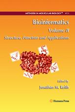 Copertina Bioinformatics: Structure, Function and Applications