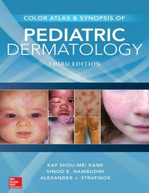 Book cover Color Atlas and Synopsis of Pediatric Dermatology