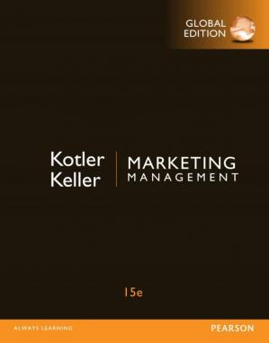Book cover Marketing Management