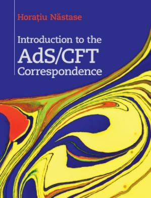 Book cover Introduction to the AdS/CFT Correspondence