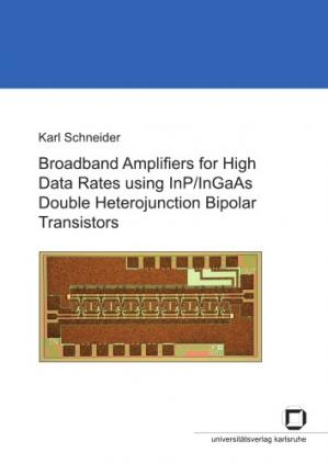 书籍封面 Broadband Amplifiers for High Data Rates using InP InGaAs Double Heterojunction Bipolar Transistors