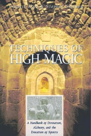 Book cover Techniques of High Magic: A Handbook of Divination, Alchemy, and the Evocation of Spirits