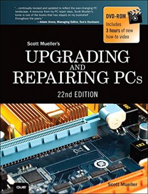 Book cover Upgrading and Repairing PCs 22nd Edition