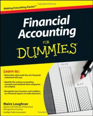 Book cover Financial Accounting For Dummies
