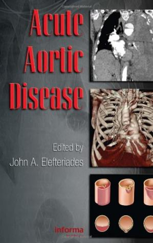 Book cover Acute aortic disease