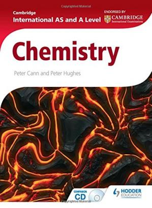 Book cover Cambridge International AS and A Level Chemistry