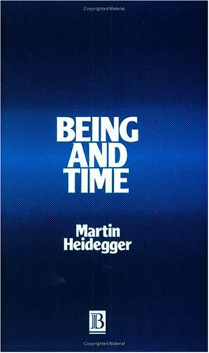 Book cover Being and time