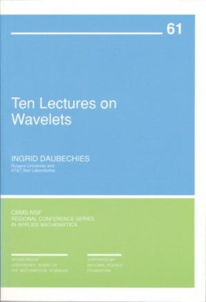 Book cover Ten lectures on wavelets